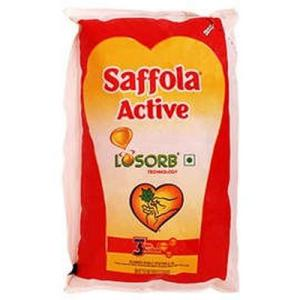 Saffola Active Refined Oil Pouch 1 ltr
